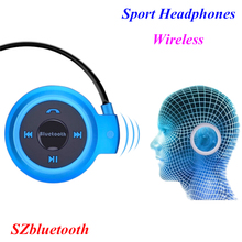 Low price built-in MP3 FM player Mini 503 neckband stereo wireless bluetooth headphones sport