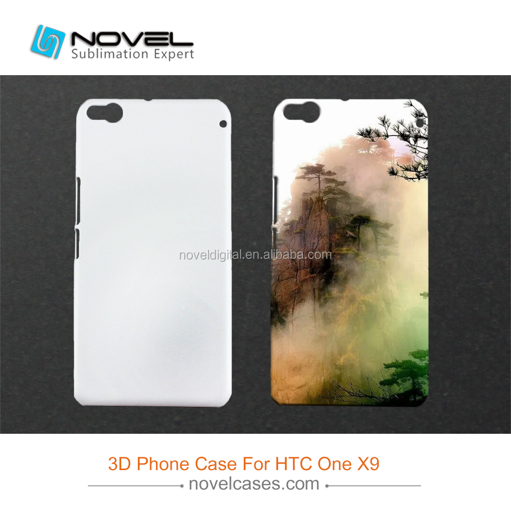 DIY Mobile Phone Case for HTC One X9,Sublimation 3D Blank Cover