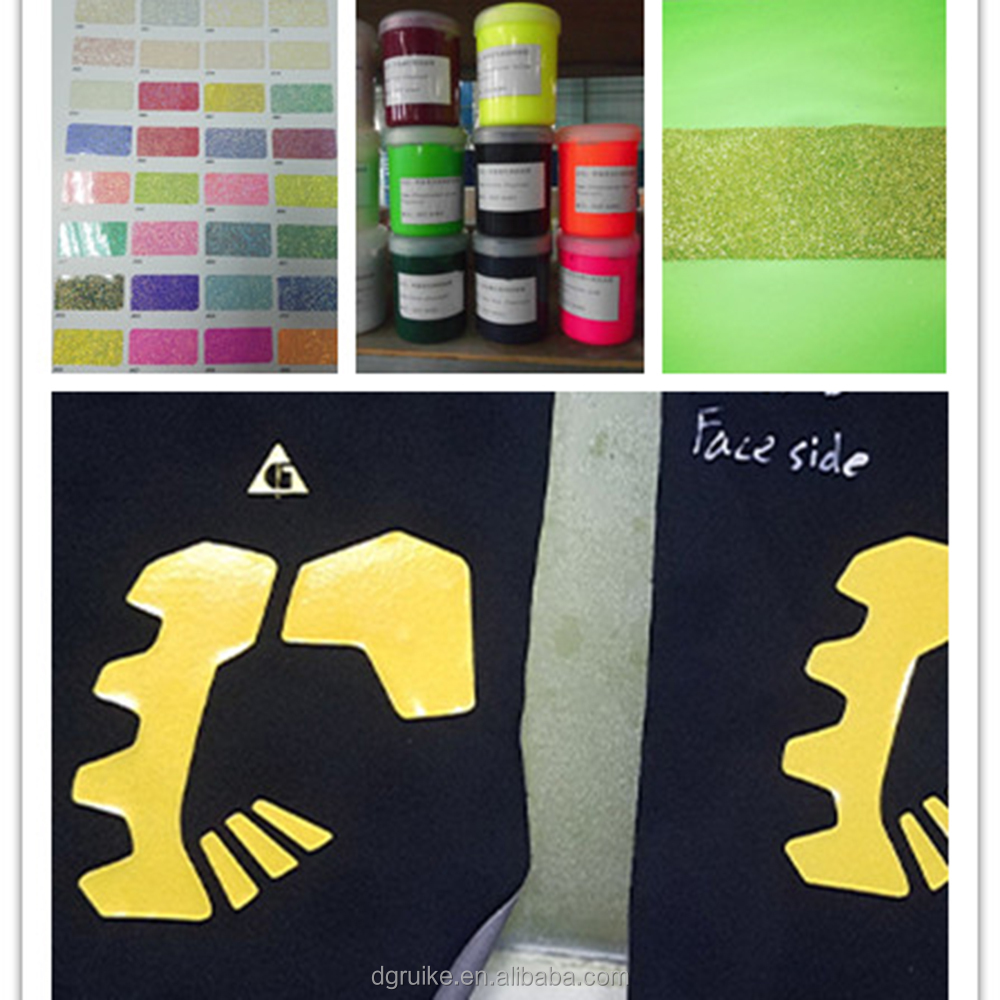 garment fabrics SOLLYD Food Grade Pigmentable High Density Glossy Silicone Screen Printing Textile Ink