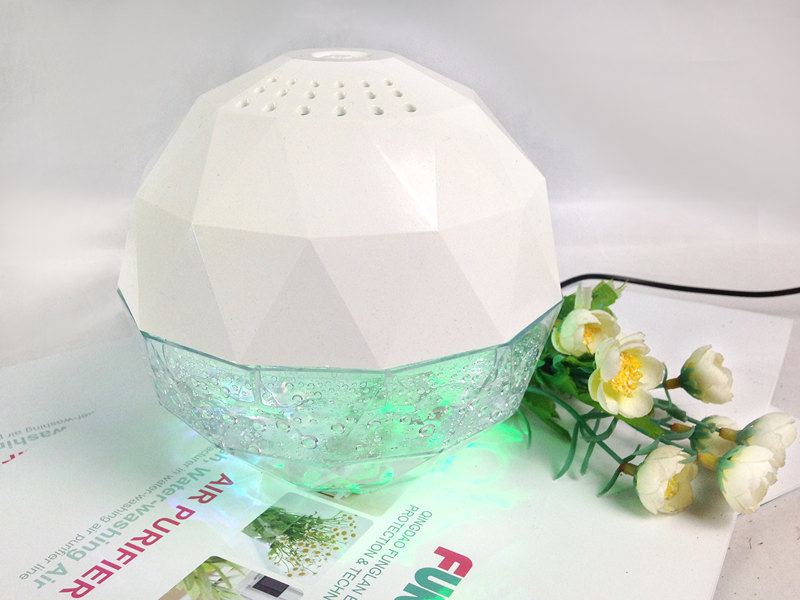 Funglan kj-166 uv purificateur d'air ioniseur globe kenzo water air purifier China supplier air ball room air freshener
