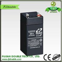 hot sale rechargeable maintenance free agm vrla 4v 4ah battery