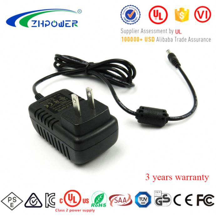 pse FCC cUL UL listed 15 volt ac dc adapters 15vdc 600ma 9w switching power supply