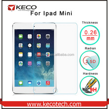 Factory Price For iPad Mini Screen 2.5D 9H Tempered Glass Protector