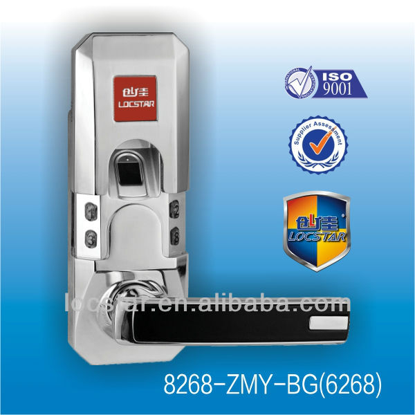 intelligent fingerprint keyless bureau lock
