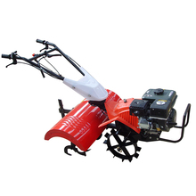 9HP Gear Transmission Gasoline Power Tiller / Tractor Rotavator For Sale