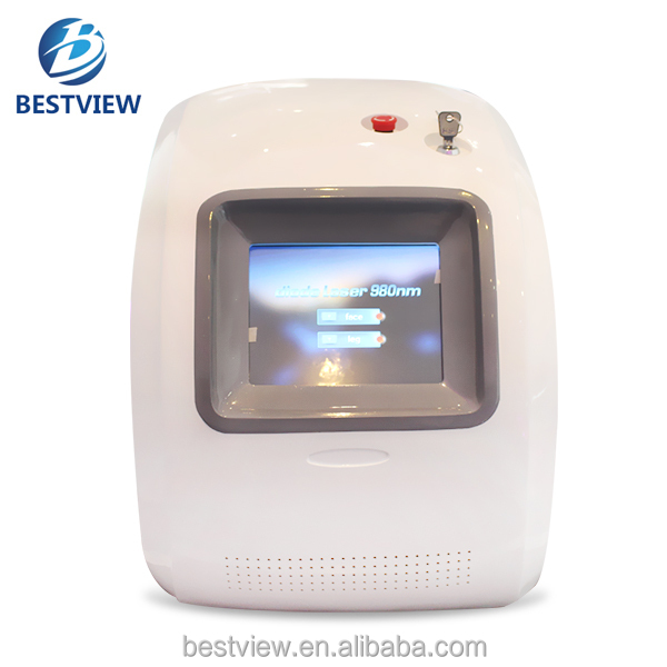 New Tech 980nm Diode Laser Vascular Removal Skin Treatment Machine