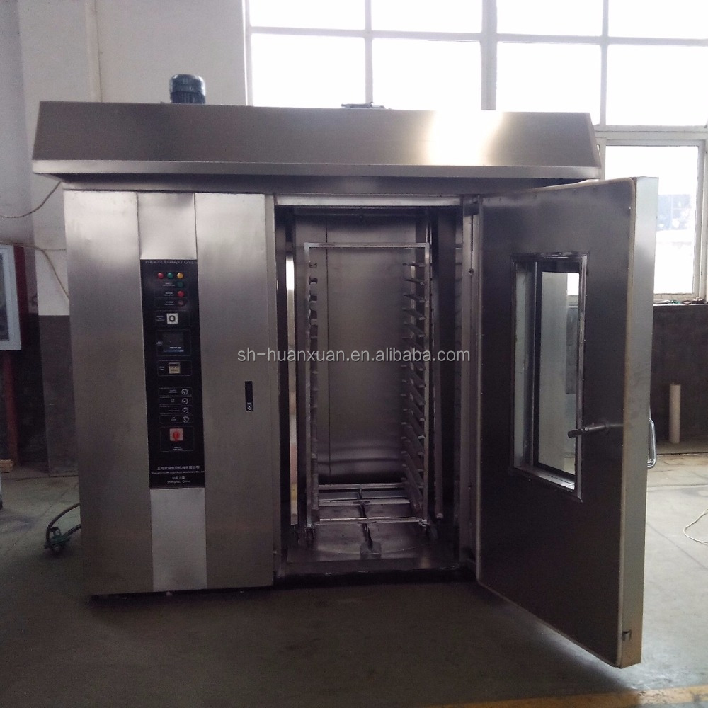 Hot Sell Industrial Bread Baking Electric Type Rotary Oven