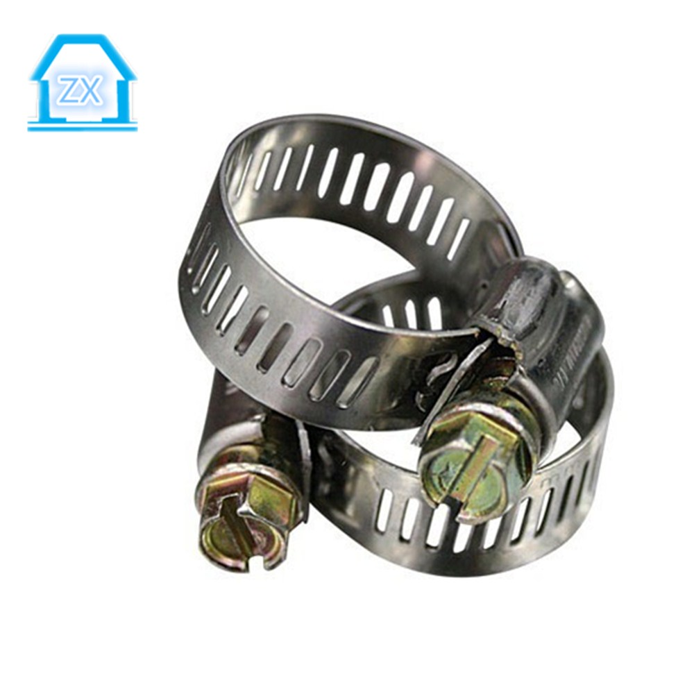 1/2 Adjustable Stainless Steel Drive Hose Clamps Fuel Line Worm Clip