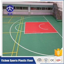 Indoor standard mobile basketball court floor