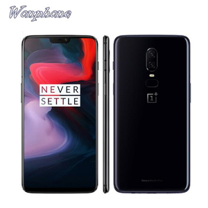 Wholesale OnePlus 6 Waterproof Phone 6.28inch Snapdragon 845 Octa Core Android 8.1 Dual Camera NFC Smartphone