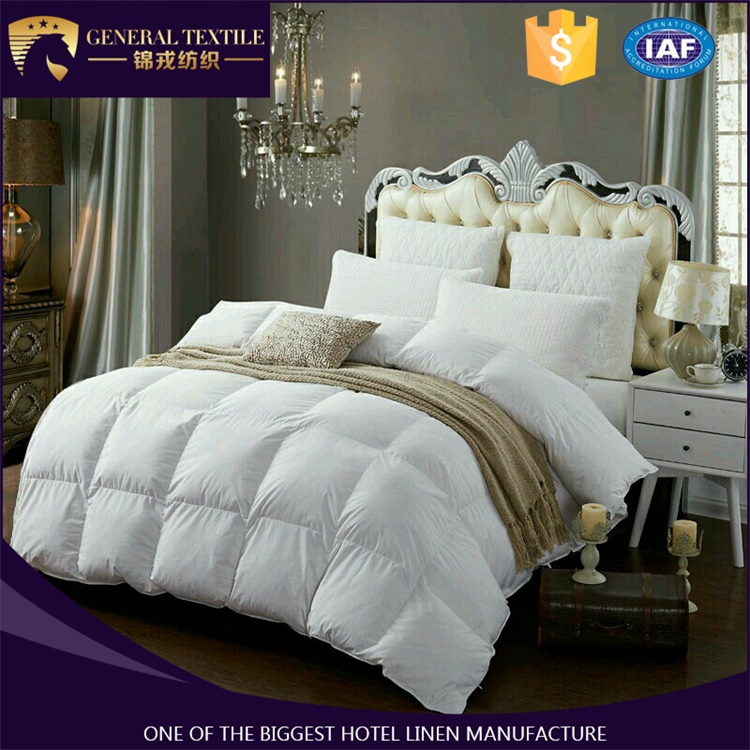 Classic cheap wholesale goose feather and bed comforters of good quality