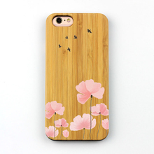 Real Bamboo Wood phone cover For iphone 6 7 8 universal for samsung j7 j5 prime A8 plus case