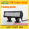 Best selling 4x4 led light bar 72W 12 inch led offroad light bar for car