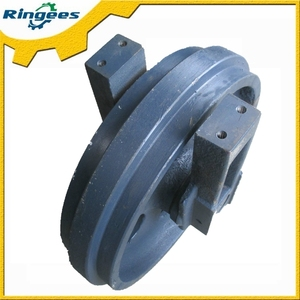 high quality Volvo EC290B EC290BLC excavator parts undercarriage parts front idler / idler pulley