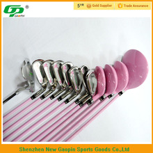 Iron carbon fiber rubber grip golf club