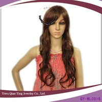 natural girls hair wig for asian young women