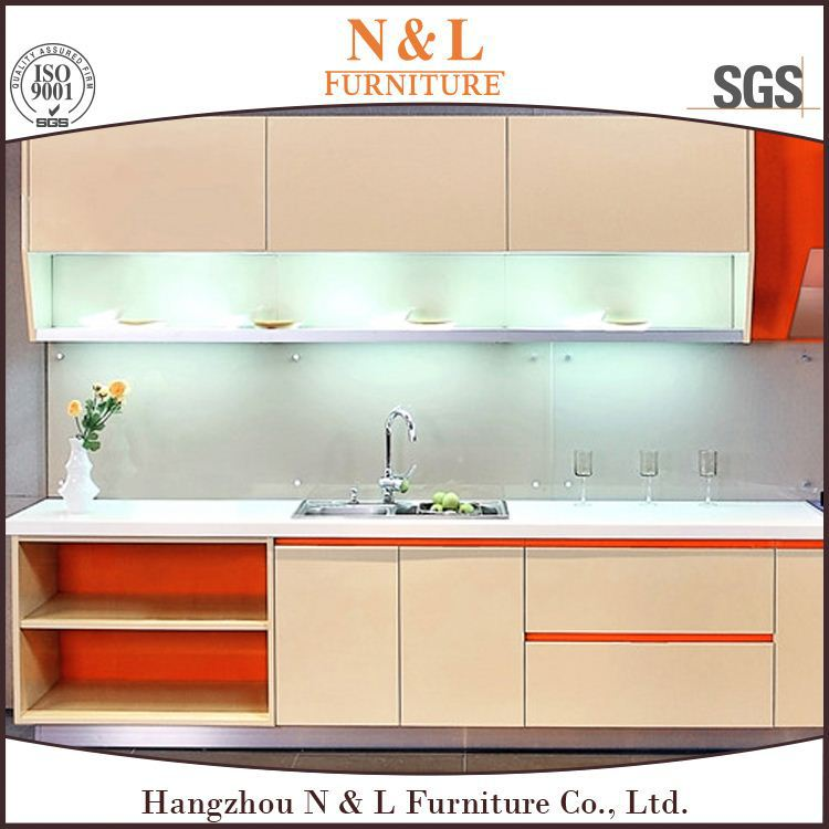 High gloss lacquer kitchen cabinet doors kitchen cabinet baseboard laminate paper for kitchen cabinet