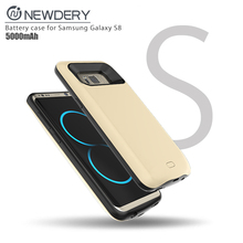 wholesale cell phone case Battery power case cell phones smartphones for Samsung galaxy S8