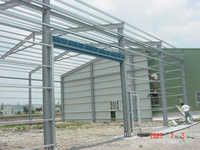 Hot selling construction design steel structure warehouse for wholesales