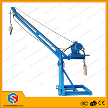 Indoor and outdoor lifting equipment 360 degree electric small portable crane