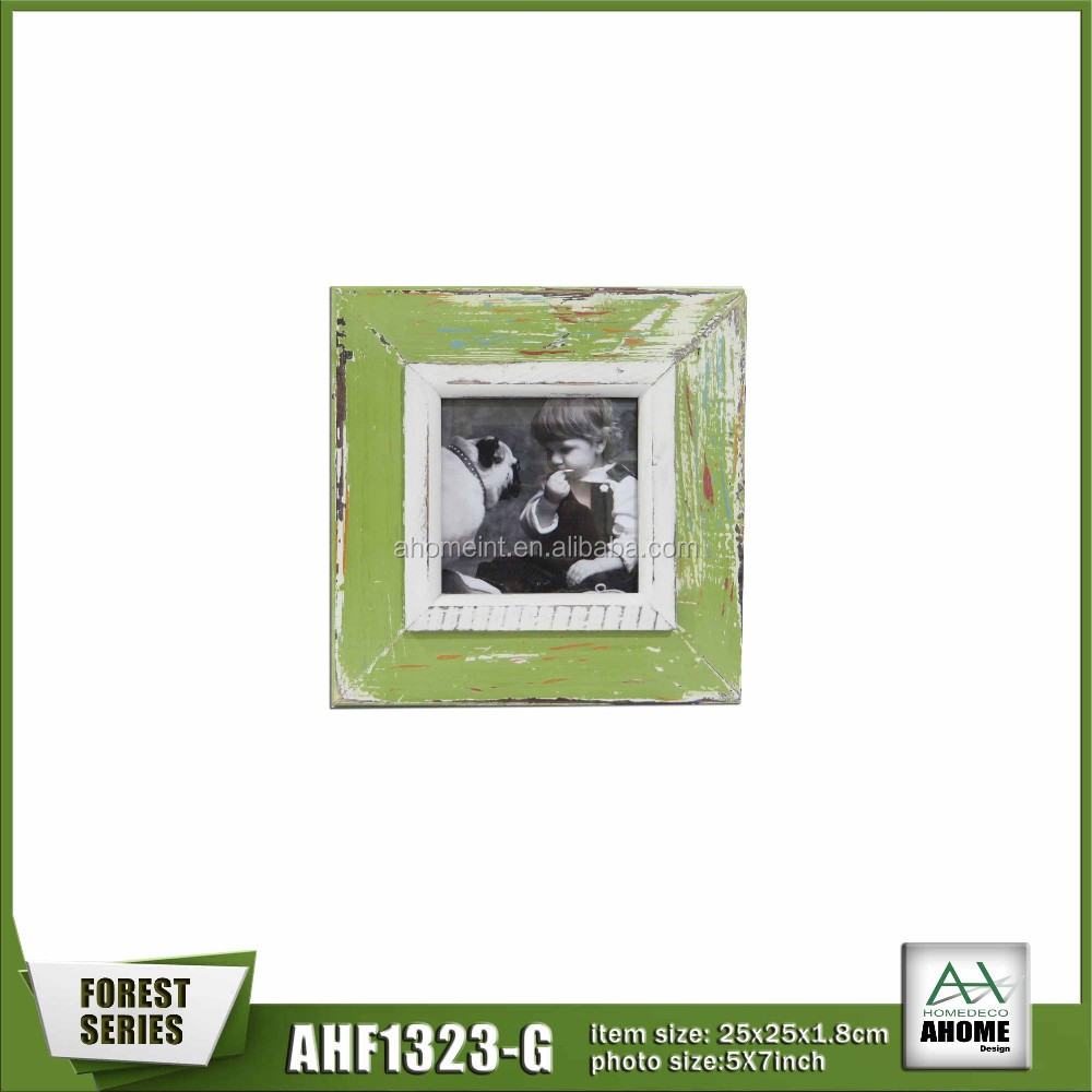 2016 China promotional cheap photo frame cardboard paper photo frame