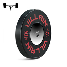 Durable Rubber Fitness Weight Bumper Plates