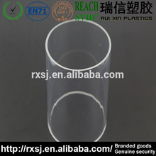 round clear acrylic plastic pvc pipe