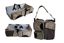 3 In 1 Diaper Bag Multi-Purpose Baby Travel Carry Bed Portable Changing Bag for Mom