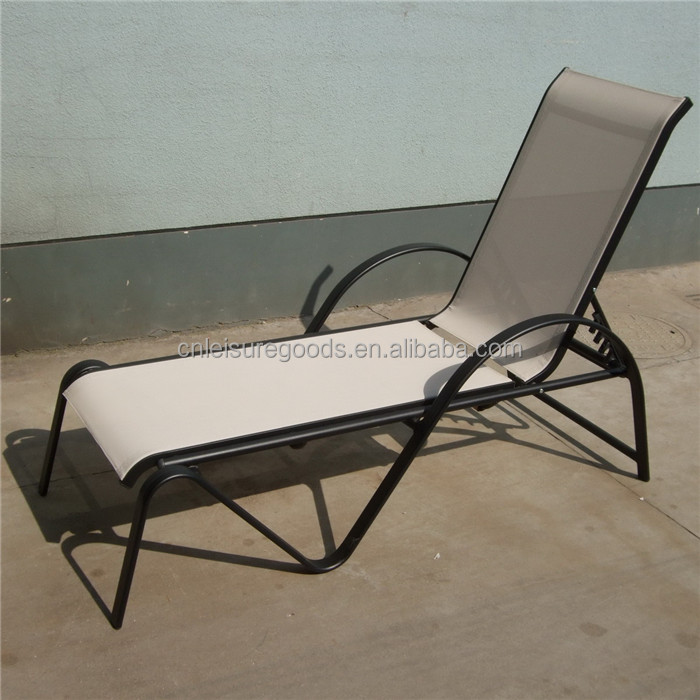 Uplion MC3072 Garden Outdoor Lounge Chair Used Pool Furniture sunbed Used Pool Furniture sunbed mattress