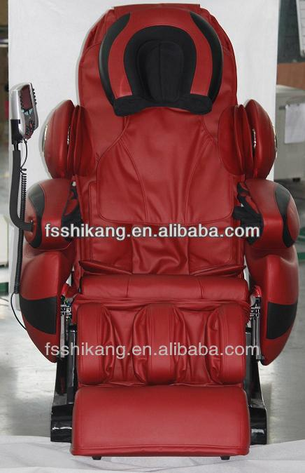 2013 best 3D automatic back and leg massage chair SK-808C p