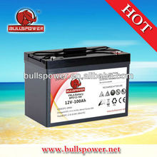 12v100ah Alarm guard battery,car security battery