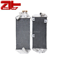 Durable Motorcycle Water Cooling Radiator With Aluminum Radiator Core For Motocross SUZUKI DRZ400S SM 2000-2012