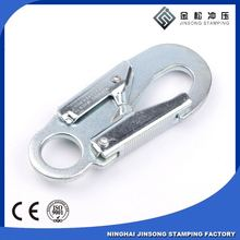 metal charming style industrial snap hook for climbing