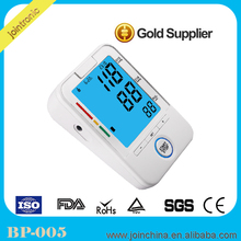 CE and Rohs approved Fully automatic upper arm style digital blood pressure,blood pressure measuring instrument manufacturer