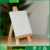 Factory Low Price Tabletop A-Frame Miniature Wooden Easel With Blank Stretched Canvas