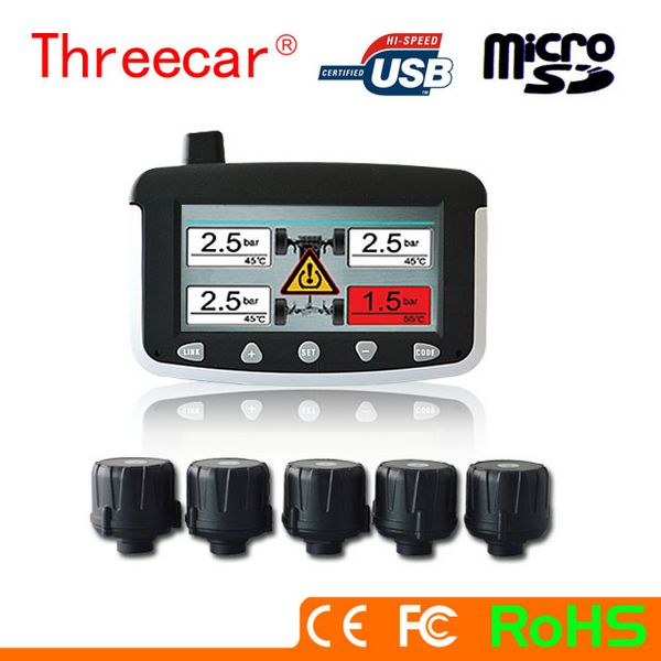 Free sample Water resistant easy to install 18 wheels truck & trailer tpms