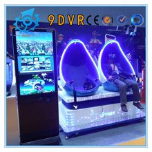 Top quality 1/2/3/4 seat/chair 9d egg vr cinema 3DOF motion Front-end develop manufacturer for all age family fun center
