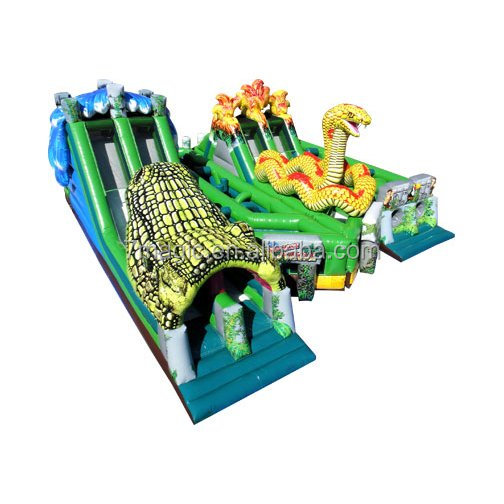 The Lost Jungle by Ninja Jump/adult inflatable obstacle course
