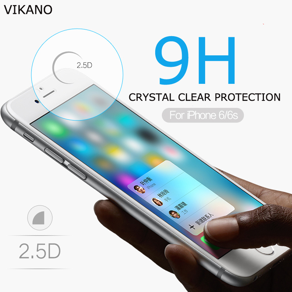 Vikano !!! New coming full body tempered glass screen protector for iphone 5S / 5G with no bubble anti UV