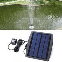 2016 Alibaba supplier quality security solar garden water fountain kits