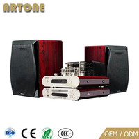 HDA-616 high end home audio DVD player wooden speaker vacuum tube pull push amplifier