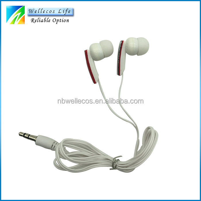 cheap earphone promotional,oem different size mp3/mobile phone earphone