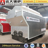 wood pellet or coal fired hot water boiler for industry use