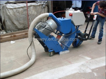 Road surface clear shot blasting machine
