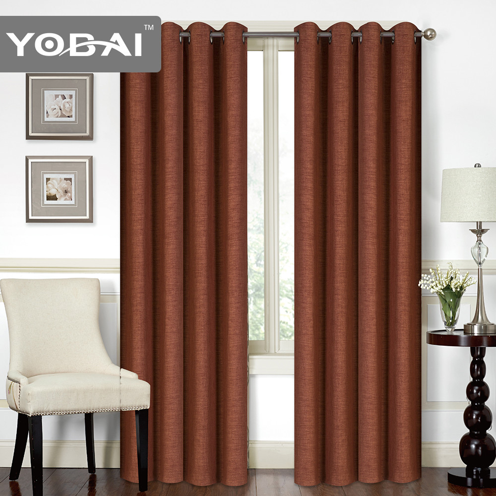 New Design Blackout Hotel Window Curtains