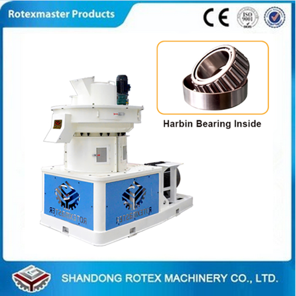 1.5t/h wood/sawdust/rice husk/peanut shell/corn/soybean pellet making machine with CE