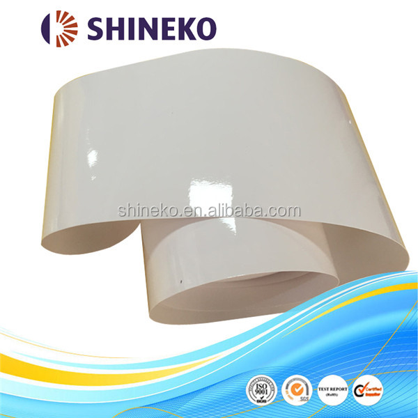 self-adhesive milk white electro static film sticker