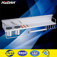 wall mounted aluminum kitchen corner shelf, kitchen paper towel rack