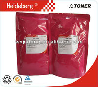 wuxi jiateng sale bulk laser toner powder for konica minolta DI450 toner powder