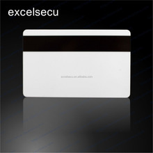 ESECU Customized Size Printable PVC Blank Rewritable Magnetic Stripe Smart Card Credit Card